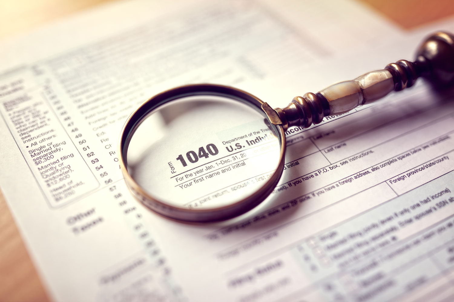 Form 1040- How to Amend a Tax Return for a Prior Year